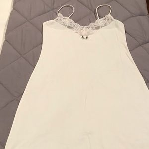 NWOT Victoria's Secret White Chemise - Size S